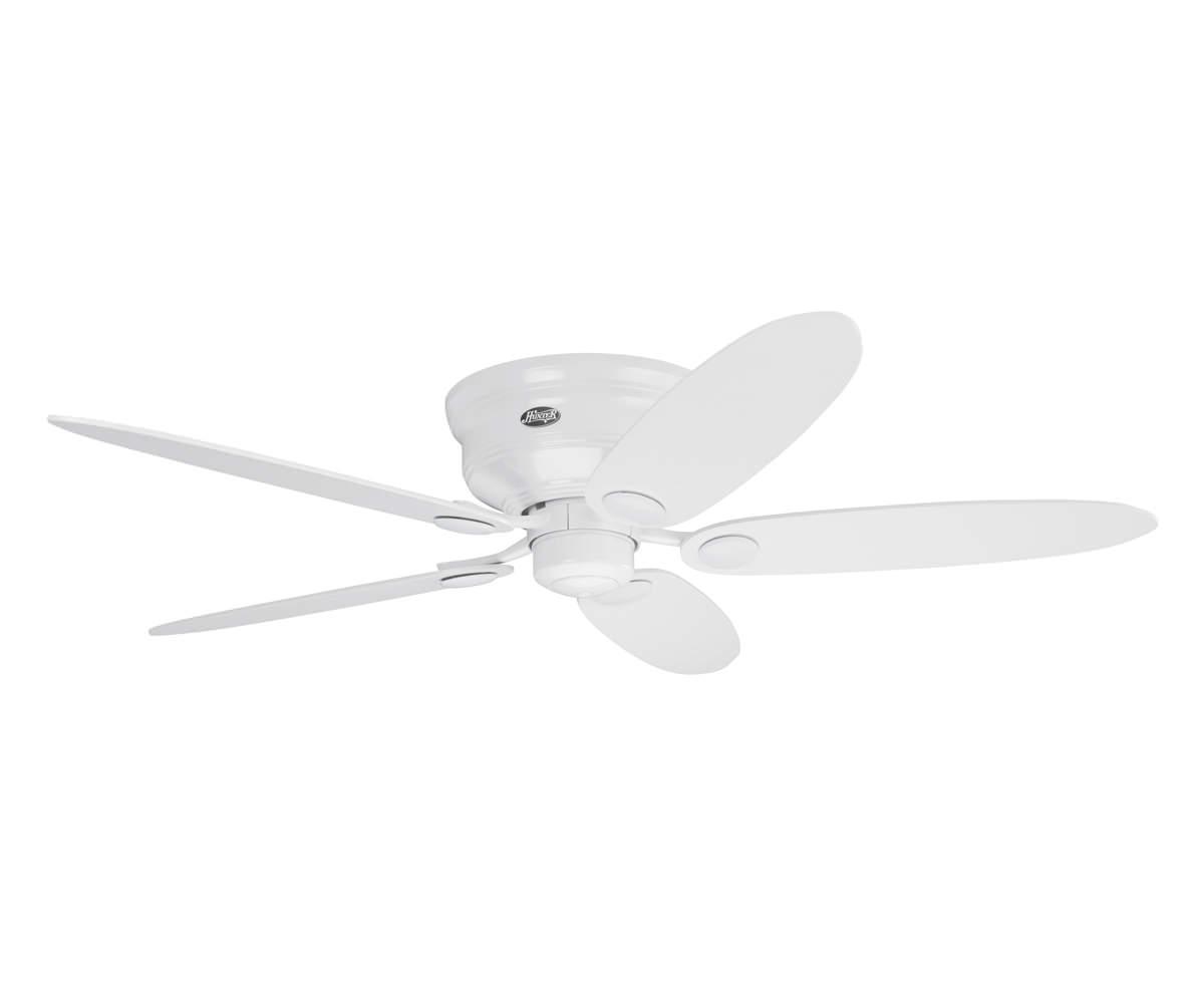 Hunter Fan 24377 Low Profile III/ /Ceiling Fan 132/cm white