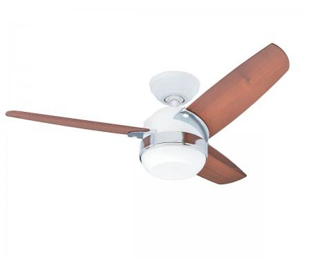 Ceiling fan Hunter 24170 Bayport 107 WE light oak or white white